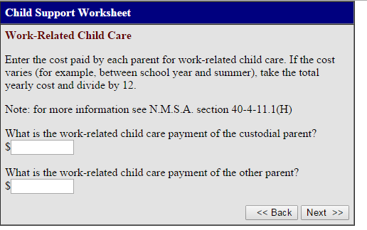 New Mexico Child Support Calculator | Guidelines | Child-Support.com