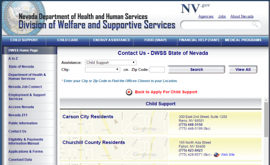 Nevada Revised Statutes >> Nevada Child Support Login | Make a Payment | Child-Support.com