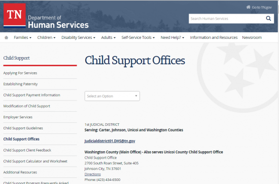 Tennessee Child Support Login Make a Payment – Washington Child Support Worksheet